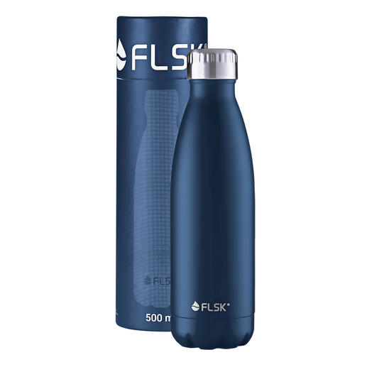 Isolierflasche, 0,5 l, Midnight-Blue