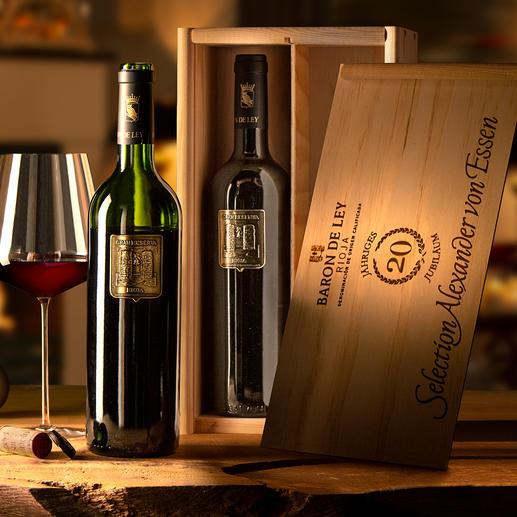"""Viña Imas Gran Reserva 2010 in 2er-Holzkiste, Baron de Ley, Rioja, Spanien Von """"Spaniens Weingut des Jahres 2007."""" (IWSC, www.iwsc.net)"""