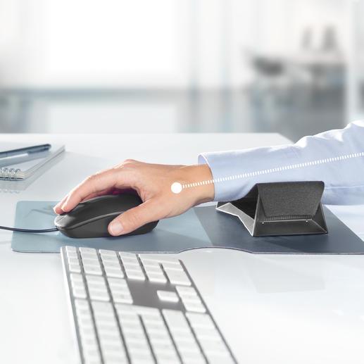 Zero G glider® Unterarmgleiter Diese Gleitauflage unterstützt Ihren Unterarm bei jeder Mausbewegung. Hand, Arm und Schulter werden wirkungsvoll entlastet.