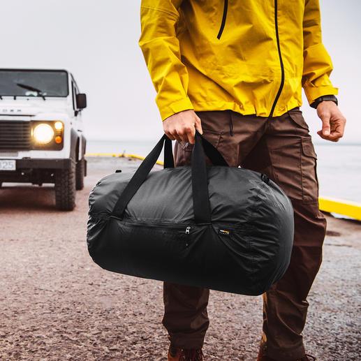 Ultraleicht-Falttasche 2.0 Die ideale Tasche fürs Reisegepäck, den Alltag, Sport, ... Ultraleicht. Faltbar. Und 100 %ig wasserdicht.