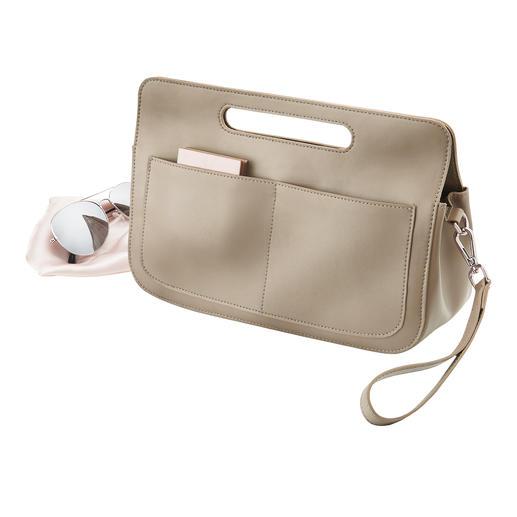 &bag - Elegante Pochette. Professioneller Organizer. Und geniale Bag in Bag.