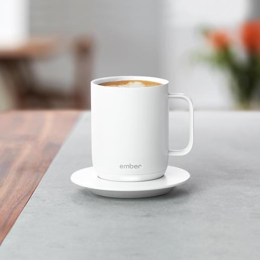 Ember® Ceramic Mug Die erste beheizbare Tasse mit Temperaturwahl.