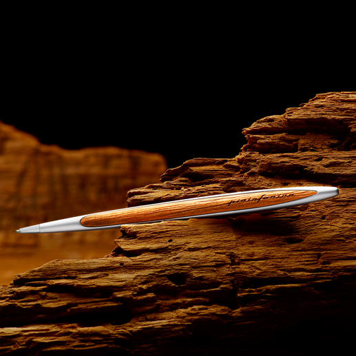 Pininfarina Kugelschreiber Kauri-Wood Die typische Handschrift Pininfarinas: der Kugelschreiber aus 48.000 Jahre altem Kauri-Holz.