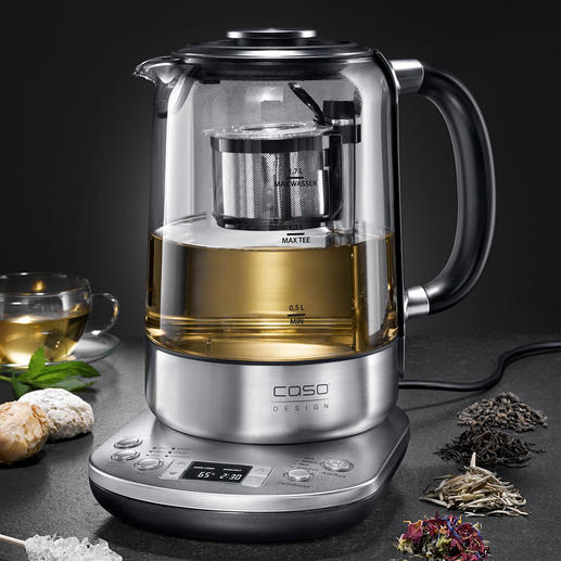 Gourmet-Tee-Automat - Der intelligente Tee-Automat: bereitet die unterschiedlichsten Tee-Spezialitäten auf den Punkt. Vollautomatisch.