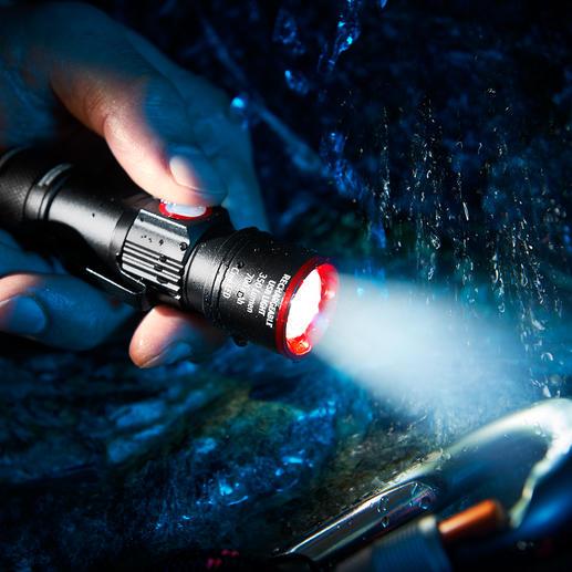 Kompakt-Taschenlampe Eco Beam Pro - Die bessere Kompakt-Taschenlampe: mit integrierter USB-Ladefunktion. Ohne zusätzliches Kabel aufladbar.