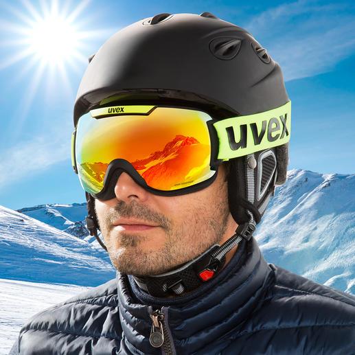 uvexSkibrilledownhill2000CV Optimale Kontrastverstärkung. Und die wohl beste beschlagfreie Sicht aller Zeiten.