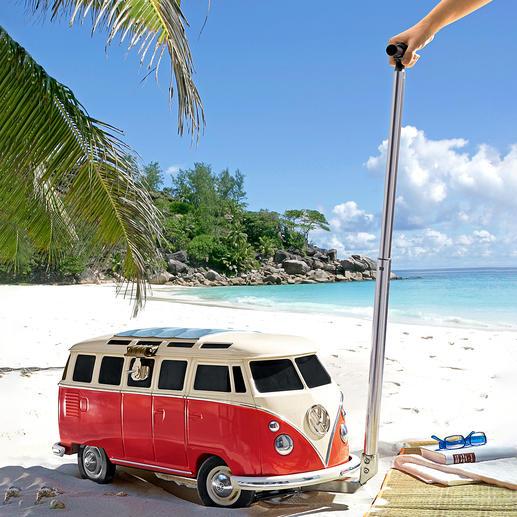 Kühlbox VW Bulli Hält über 26 Liter eisgekühlt – perfekt für Festival, Party, Strand, Garten, ... Von VW offiziell lizenziert.