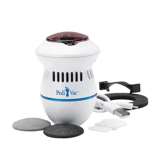 PediVac™ Pediküre Viel hygienischer: die elektrische Pediküre mit Absaugfunktion.