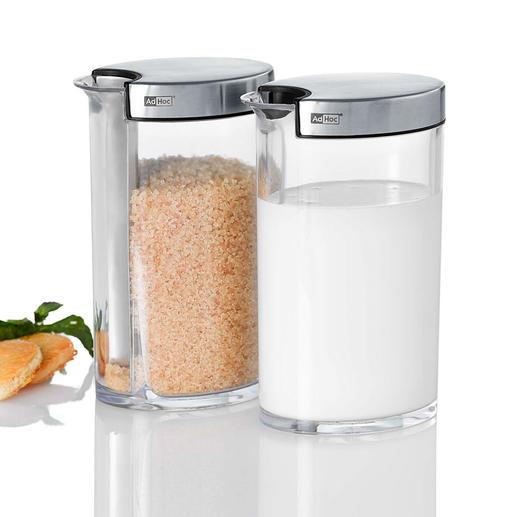 2-g-Zuckerportionierer Selten: der Zuckerportionierer für die kleine 2-g-Portion (statt 4-5 g).