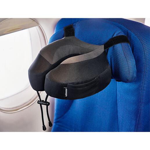 Nackenkissen Evolution® S3™ Per genialem Gurtsystem rutschsicher an fast jeder Kopfstütze zu befestigen.