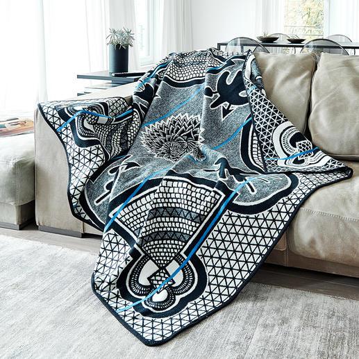 Basotho-Decke In Afrika ein eleganter Umhang. Für Sie eine außergewöhnliche Decke von ethnischem Reiz.