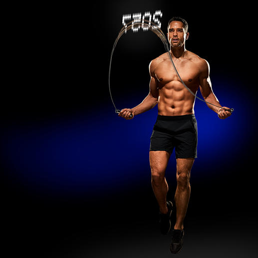 Springseil Smart Rope® Die smarte Vollendung des Fitness- Klassikers Springseil.