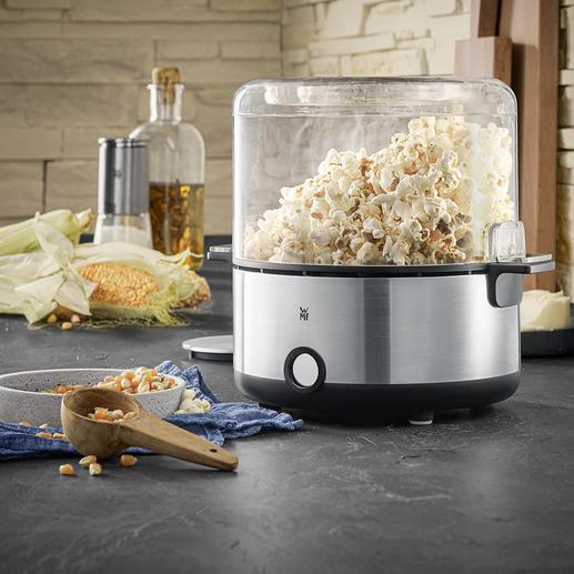 WMF KÜCHENminis® Popcorn-Maker Mit integriertem Drehstab. Für perfekt gleichmäßig gerösteten Knabberspaß, den jeder liebt.