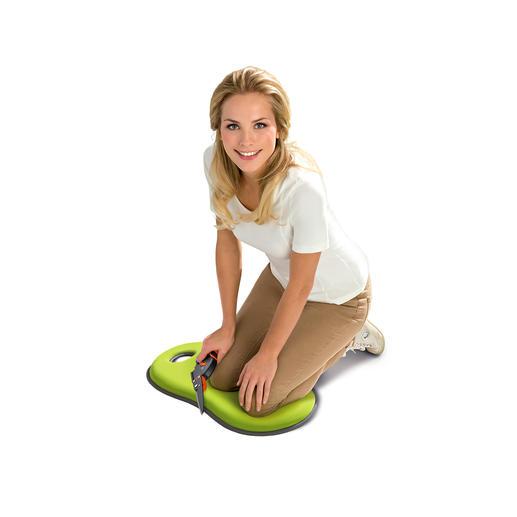 Knie- und Sitzkissen Ideal beim Gärtnern, Renovieren, Putzen. Aber auch für kalte Stadion-Sitze und Parkbänke.