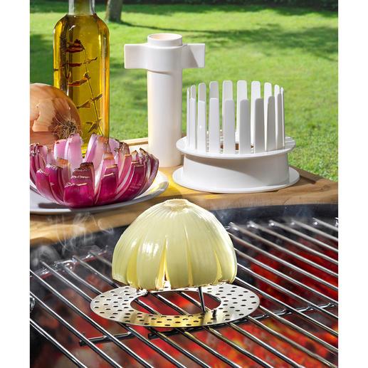 Blooming Onions-Set, 3-teilig Ein unwiderstehlicher Genuss für Gaumen und Auge. Der Steakhouse-Klassiker aus den USA.  Jetzt ohne Aufwand selbstgemacht.