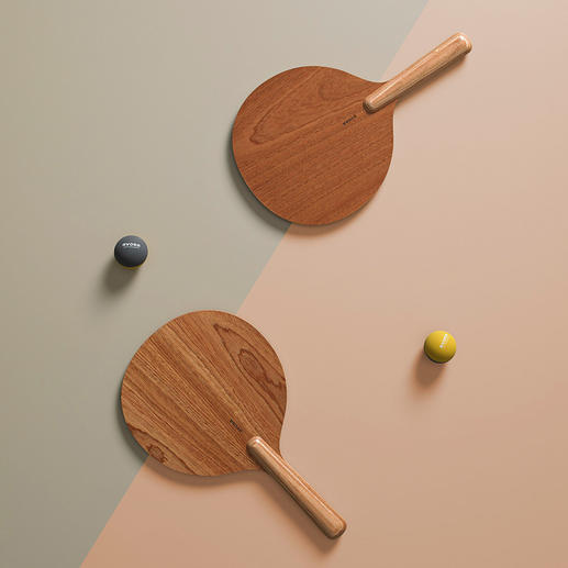 Beachball-Spiel, Braun