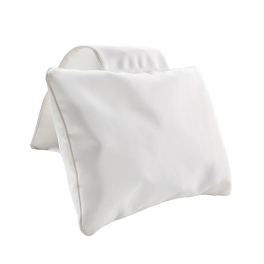 Kissen mitGegengewicht, Weiß