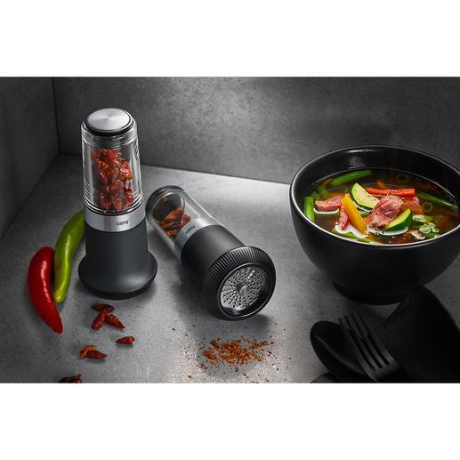 Chili-Schneider X-Plosion® Feurige Chilis – leichter, schneller, sicherer schneiden. Und exakt dosieren.