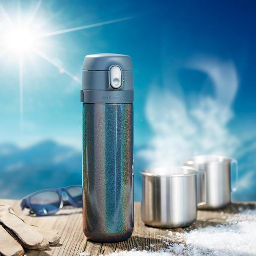 Thermo-Teebereiter Mit patentierter Brühstopp-Funktion. Ohne Aufwand überall: frisch gebrühter Tee genau nach Ihrem Geschmack.