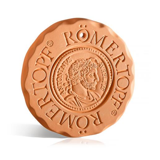 RÖMERTOPF® Warmhalte- und Kühlplatte Original RÖMERTOPF®-Keramik hält Ihre Speisen und Getränke warm oder kalt.
