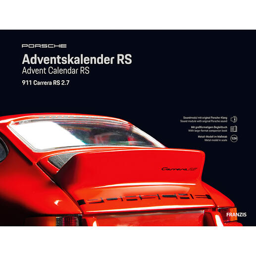 Inkl. Soundmodul mit Original Porsche-Motorklang.