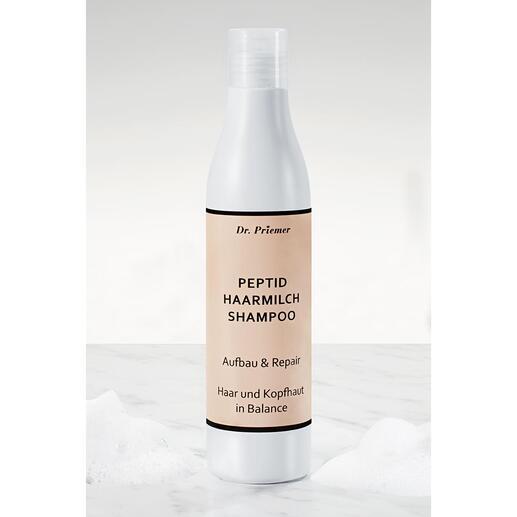HaarmilchAufbau-und Repair-Shampoo, 250 ml Für schönes, gepflegtes Haar und gesunde Kopfhaut: natürliche Milch-Peptide in 10-facher Konzentration.