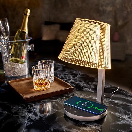 MagischeDesign-Tischleuchte Wie von Zauberhand: scheinbar schwebende Lichtpunkte beleuchten Ihr Ambiente stimmungsvoll und genau nach Wunsch.