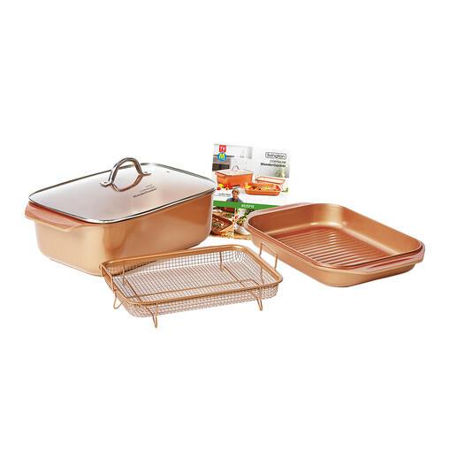 CopperlineWonderCooker, 4-teilig