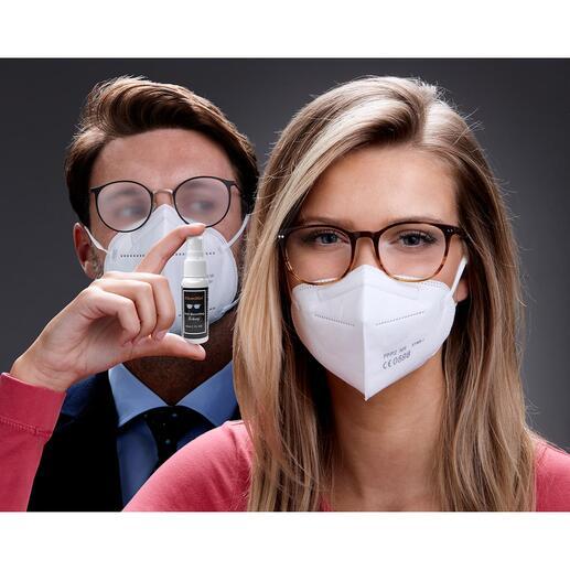 Clean2goAnti-Beschlag-Spray, 30 ml Gute Neuigkeiten für Brillenträger. Endlich ein Antibeschlag-Spray, das wirklich funktioniert.