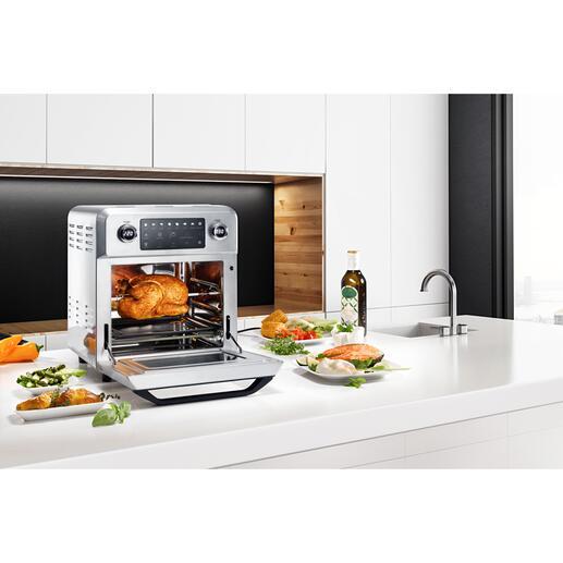 Bistro Vital Deluxe 9-in-1-Mulitalent für Ihre abwechslungsreiche Küche. Gesund, fett- und kalorienarm.