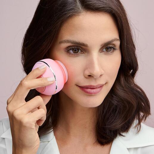 Gesichtsbürste Higher Glow 3 effektive Beauty-Anwendungen in einem genialen Tool. Auf Ihren Hauttyp abgestimmt. Bequem zu Hause.