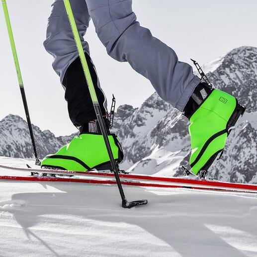 SNÜX® Ski-Überschuh Nie mehr kalte Füße in Skischuhen. Ganz ohne Akku und Kabel. Der patentierte Hightech-Überschuh aus thermoaktivem Cozytech®.