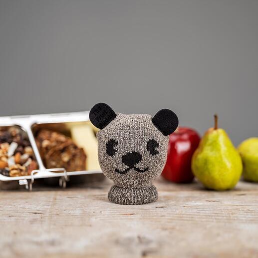 Früchte-Buddy Wollweicher Strick transportiert Ihr Pausenobst gegen Stöße und Druck geschützt und bewahrt Ihre Taschen vor Flecken.