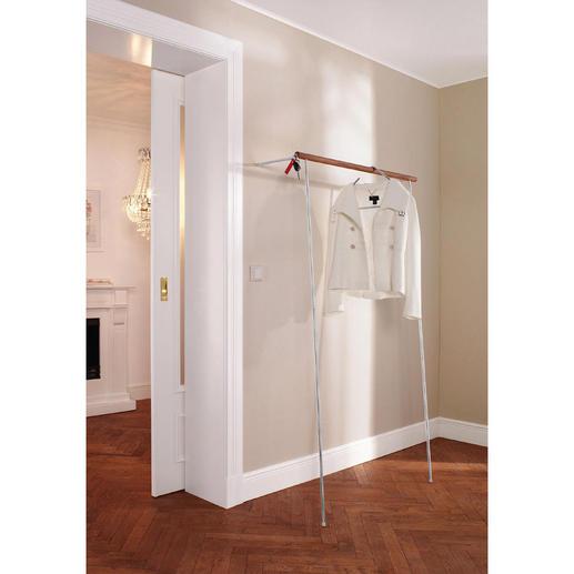 Garderobe zum Anlehnen - Im Handumdrehen aufgestellt. Ohne Bohren, ohne Dübeln.