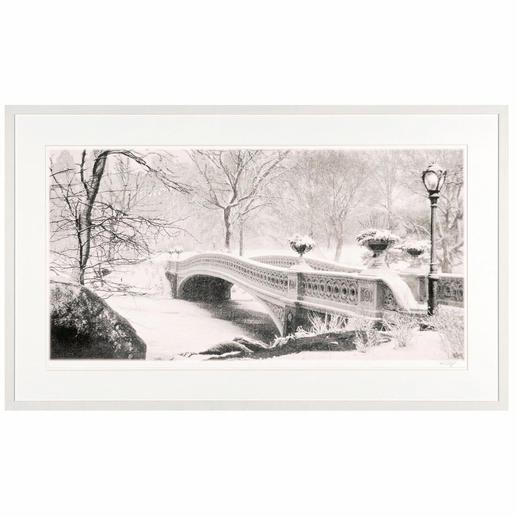 """Koshi Takagi: """"Central Park"""" - Fotorealistische Bleistiftzeichnung mit über 1 Million handgemalten Strichen. Die zweite Edition Koshi Takagis (die erste ist bereits ausverkauft)."""