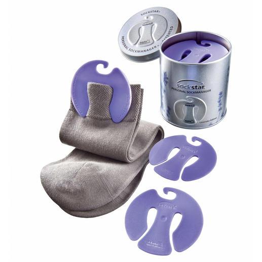 sockstar® mit Lavendelduft in Metallbox