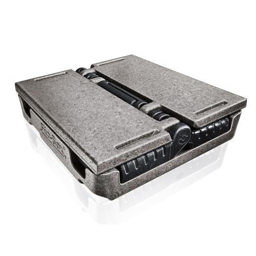 Nach Gebrauch mit wenigen Handgriffen zusammengeklappt, verstellt Ihnen das stabile Leichtgewicht keinen wertvollen Platz in Kofferraum oder Abstellkammer.