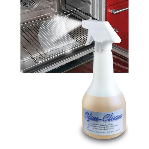 """""""Ofen-Clean"""" - Endlich auch für zu Hause: der Backofenreiniger der Profis."""
