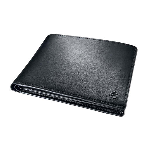 Mit nur 2 cm angenehm flach, ist Ihre Lederbörse in jeder Tasche bequem – ohne zu beulen.