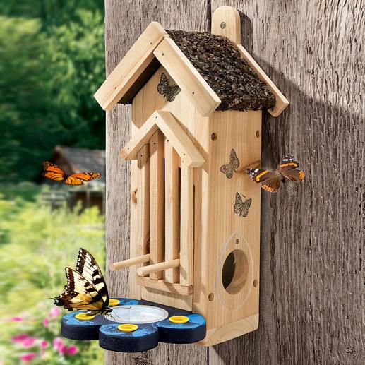 Schmetterlingshabitat - Verlockender Rast- & Nistplatz für farbenfrohe Falter.