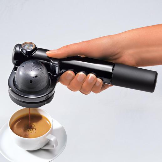 Handpresso PUMP - Mitten im Wald, auf hoher See, auf der Piste, ... Ihre Espressomaschine ist bereit.