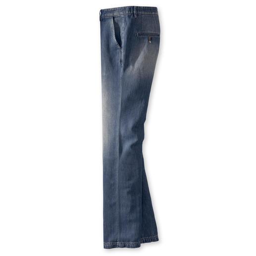 Baumwoll-Leinen-Jeans