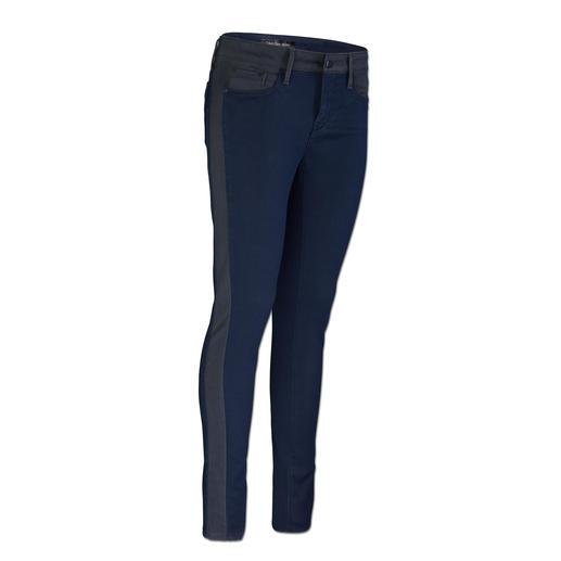 Calvin Klein Jeans Blue-Skinny-Jeans - Jetzt die besten Zutaten für trendgerechte Basic-Jeans: Skinny-Form. 7/8-Länge. Tiefdunkles Blau.