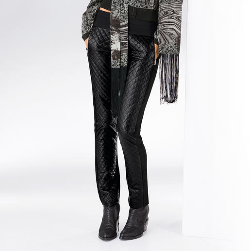 Michalsky Steppleder-Jersey-Röhre - Trend-Thema Leder. In Kombination mit Jersey bequem wie Leggings.