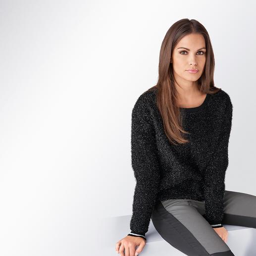 Lurex-Sweater