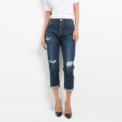 Love Moschino Destroyed-Jeans Destroyed-Jeans ohne Altersbegrenzung. Legitimiert vom Luxus-Label Love Moschino.
