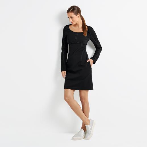 Strenesse Punto Milano-Kleid, Schwarz Heute Trendkleid der Sporty-Elegance. Morgen ein cleaner Strenesse-Klassiker.