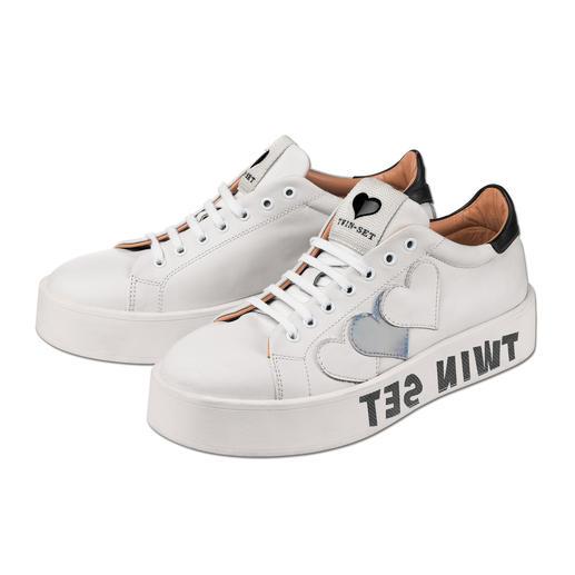 """Twin-Set Sneakers """"all white"""" - Ohne weiße Sneaker läuft auch 2016 fast nichts. Die von Twin-Set sind genau richtig."""