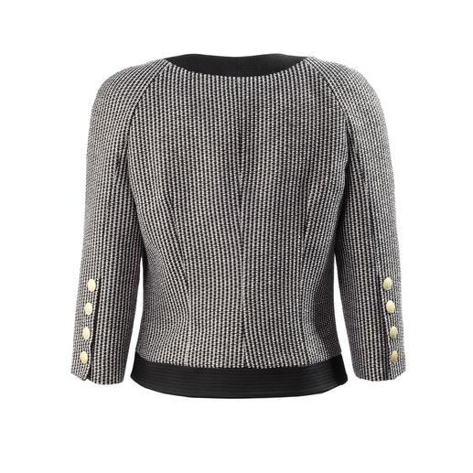Pierre Balmain Couture-Jacke Top-Thema Couture-Jacke. Bei Balmain militärisch streng und schulterbetont.