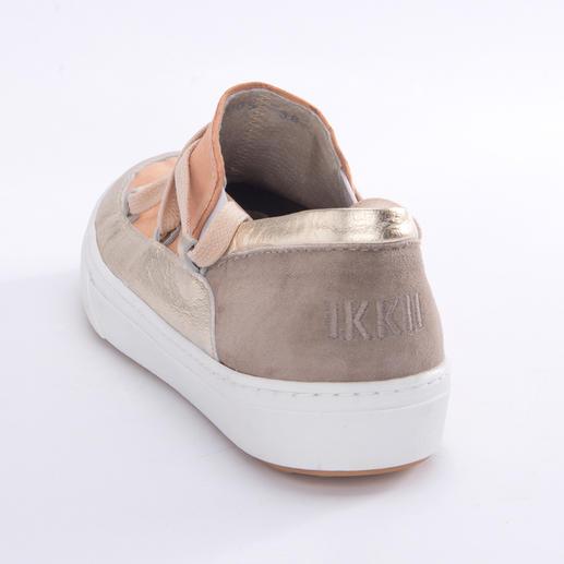 Ikkii Slip-ons Mode-Up-Date für den Sommer: Der beliebte Ikkii-Boot wird zum Ikkii Slip-on.
